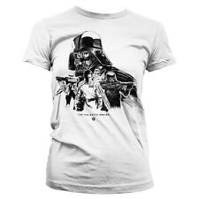 Officially Licensed Star Wars Rogue One Galactic Empire Women T-Shirt S-XXL