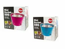Mini BBQ Outdoor Barbeque Portable Bucket Grill Rack for Travels Picnics Parties