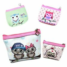 New Cute Owl Coin Purse Money Pouch Quality Ladies Girls Wallet Gift