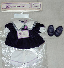 Vintage Muffy Vanderbear clothing outfit Musical Soiree BRAND NEW!