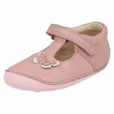 Clarks girls-little wow-baby ROSA leather-first Zapato Cruisers