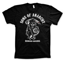 Officially Licensed Sons of Anarchy-Redwood Original 3XL, 4XL, 5XL Men's T-Shirt