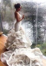 Mermaid Wedding Dress With Chapel Train, Delivery In About 25 Days.