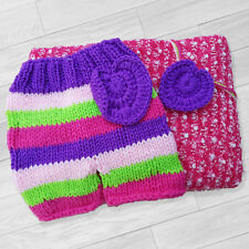GIRLS PHOTO PROP OUTFIT SET - BLANKET, SHORTS AND HEADBAND BABY SHOWER GIFT