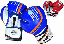 3X Sports Boxing Gloves Muay Thai Training MMA Sparring Kickboxing Bag Mitts UFC