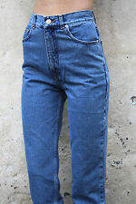 BNWT Americano Deadstock 80s High waisted Straight Leg Slim Fit Jeans 8/10/12/14
