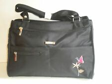 LORENZ HANDBAG WITH 4 FRONT AND 3 CENTRAL COMPARTMENTS AND REAR ZIP POCKET  2112