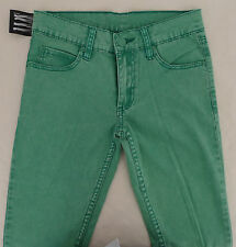 CHEAP MONDAY DAMEN JEANS mod. NARROW UNISEX SKINNY div. GR. col. TWILL ICE GREEN
