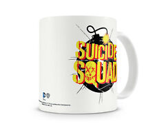 Officially Licensed Merchandise Suicide Squad Bomb Logo Coffee Mug