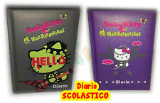 DIARIO AGENDA SCUOLA HELLO KITTY BARBARIAN POCKET NON DATATO ORIGINALE
