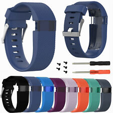 Polsiera Bracciale Cinturino in Silicone Band per Fitbit Charge HR Tracker /Tool