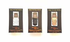 Small Mobile SONICA J8 Voice Changer WORLDS SMALLEST PHONE black, white or gold