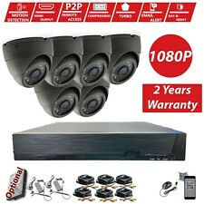 8 Channel 1080P HD CCTV DVR HDMI Outdoor 2.4MP Video Security Camera System Kit