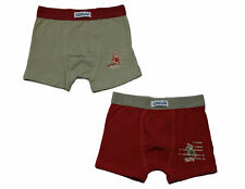 Cocuy 2er Pack Boxer Shorts Unterhose Pure Red