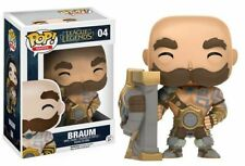 Funko Pop! Braum League of Legends Figura 10cm - Producto Oficial