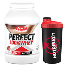 Why Sport 100% Perfect Whey 750 gr. Proteine Siero del Latte Isolate + SKAKER