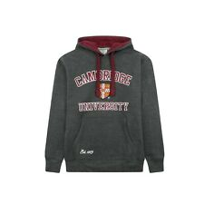 Cambridge University Embroidered Hooded Sweatshirt Officially Licenced Brand