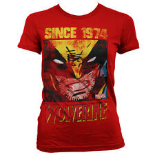 Officially Licensed Marvel Comics- Wolverine Since 1974 Women T-Shirt (S-XXL)