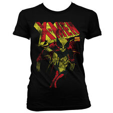 Officially Licensed Marvel Comics- X-Men Distressed Women T-Shirt S-XXL Sizes