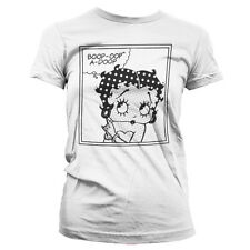 Officially Licensed Betty Boop- Betty Boop Comic Women T-Shirt S-XXL Sizes