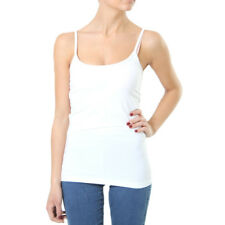 9033 Only Live Love O-Neck Singlet Tank Top weiß