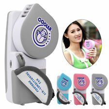 Mini Fan Air Conditioner Cooler Cooling Hand Held Portable USB/Battery Operation