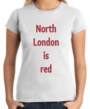 T-shirt Donna WC0522 North London is red arsenal