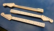 Stratocaster Canadian Maple Strat Neck, 22 fret Maple Fretboard, Clear Gloss