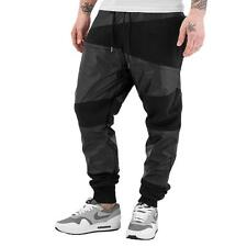 Jogginghose Freizeithose Just Rhyse Kunstleder Sweat Pants Jogging Freizeit Hose