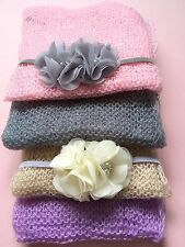 GIRLS BABY PHOTO PROP OUTFIT SET - SMALL BLANKET AND HEADBAND BABY SHOWER GIFT