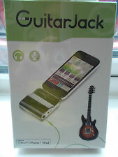 Sonoma GuitarJack Model 2 iOS for iPhone, iPod, iPad - 1/4 and 1/8 inputs