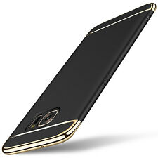 Bakeey™ 3 In 1 Combo Electroplating Hard PC  Back Case For Galaxy S7 Edge