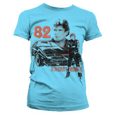 Officially Licensed Knight Rider 1982 Women T-Shirt S-XXL Sizes