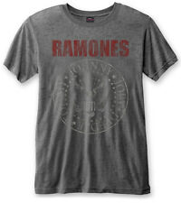 Ramones 'Red Logo Seal' Burnout T-Shirt - NEW & OFFICIAL!