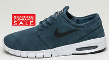BNWT New Men Nike Air Stefan Janoski Max SB Squadron Blue Suede Size 7 8 UK