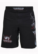 Warrior Fight Wear Panther MMA Martial Art Muay Thai Shorts Trunks Boxing