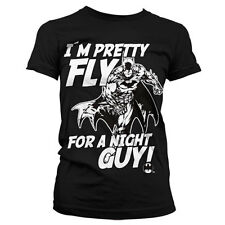 Officially Licensed Batman- I´m Pretty Fly For A Night Guy Women T-Shirt S-XXL