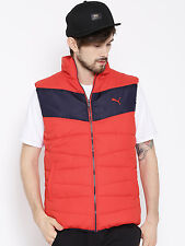 PUMA Red Polyester Sleeveless ESS Padded Jacket (MRP:3299/-) @ High Discounts