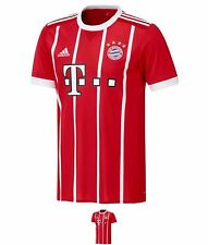 BRAND adidas Bayern Munich Home Camicia 2017 2018 Red/White