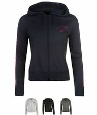 ALLA MODA Lonsdale Hoody Ladies Charcoal Marl