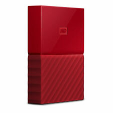 Western Digital My Passport 3000GB Rosso disco rigido esterno MYPASSPORT ULTRA 3
