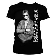 Officially Licensed MacGyver- Cool MacGyver Women's T-Shirt S-XXL Sizes