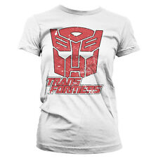 Officially Licensed Transformers- Retro Autobot Women's T-Shirt S-XXL Sizes