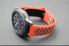 New 22MM Sports Silicone Strap Wrist Band For Samsung Gear S3 Frontier/ Classic