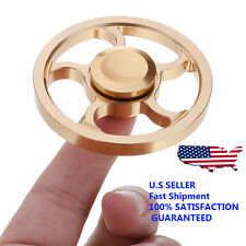 Wheel Shape Fidget Hand Spinner Finger Dest Toy Focus Gyro EDC ADHD US Seller