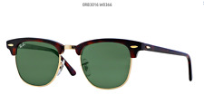 "RAY BAN RB 3016 ORIGINAL SUNGLASSES RAY BAN RB 3016 ORIGINALE ""CLUBMASTER"""
