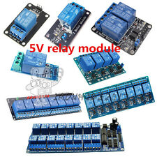1/2/4/6/8 Channel Relay Board Módulo Optocoupler LED 5V For Arduino PiC ARM AVR