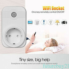 Inteligente home timer EU UK US AU Plug wifi Poder Enchufe plug APP Amazon Alexa