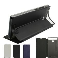 Colorful PU Leather Stand Flip Built-in Case Cover Funda For vernee Thor E Phone