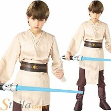 Boys Deluxe Jedi Knight Skywalker Star Wars Fancy Dress Costume Child Outfit